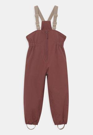 SKI PANTS UNISEX - Snow pants - maroon
