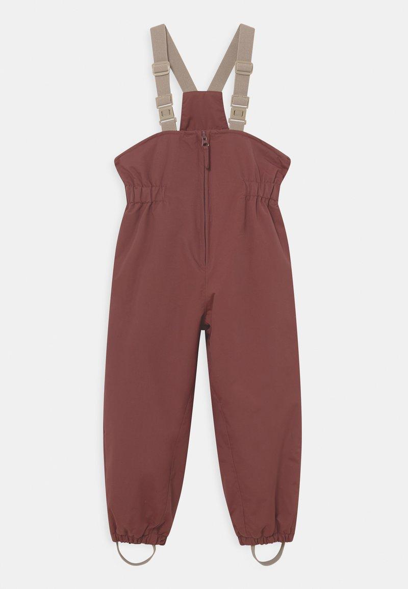 Wheat - SKI PANTS UNISEX - Snow pants - maroon