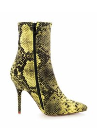 PRIMA MODA - VELLETRI  - High heeled ankle boots - yellow - 3