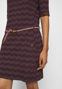 Ragwear - TANYA  - Jersey dress - wine red - 3