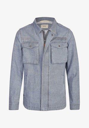 Denim jacket - beigegelb
