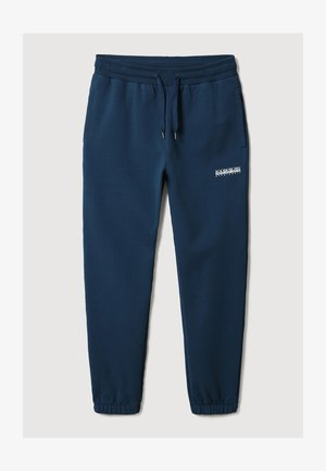 M-BOX - Tracksuit bottoms - blue french