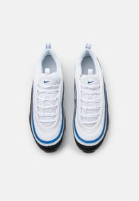 Nike Sportswear - AIR MAX 97 UNISEX - Sneakers laag - white/signal blue/black/pure platinum - 3