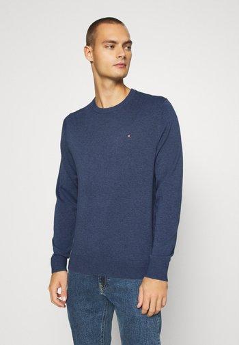 BLEND CREW NECK - Stickad tröja - blue