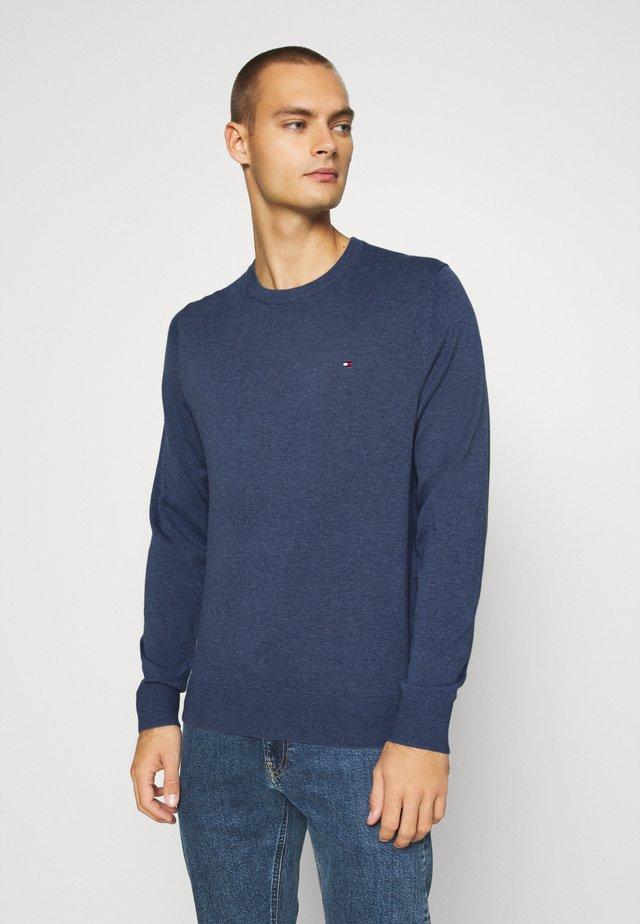 BLEND CREW NECK - Pullover - blue