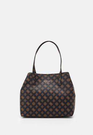 VIKKY TOTE SET - Handbag - brown
