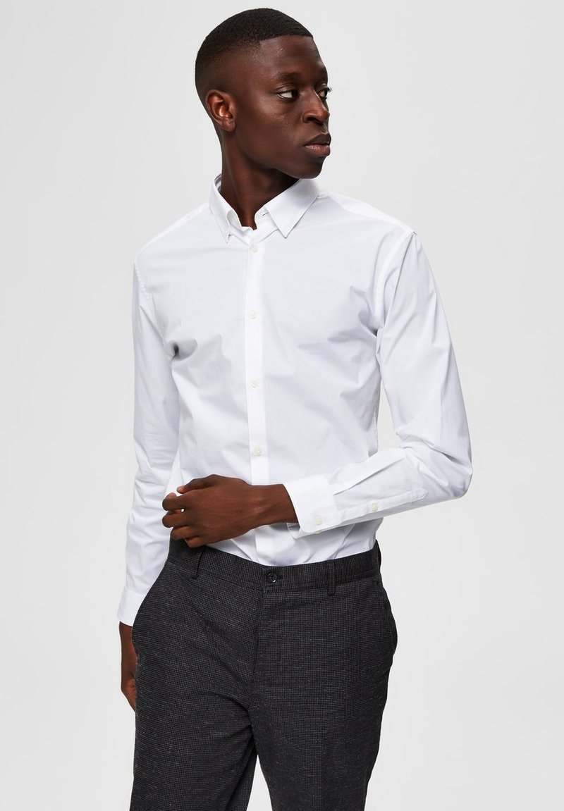 Selected Homme - SLIM FIT - Camicia - bright white