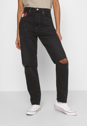MOM ULTRA  - Jean boyfriend - black denim