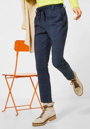 GLENCHECK - Trousers - blau