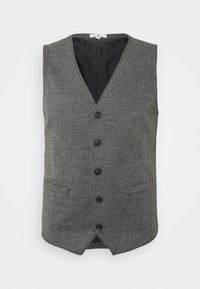 TOM TAILOR - HOUNDSTOOTH - Waistcoat - grey houndstooth - 3