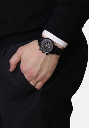 RETRO - Chronograph watch - black