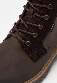 camel active - GRAVITY - Zimní obuv - dark brown - 5