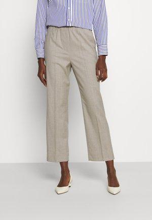 EGIZIO - Pantalon classique - beige