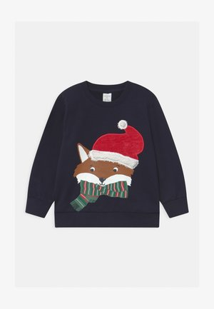 MINI XMAS UNISEX - Mikina - dark navy