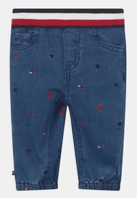 Tommy Hilfiger - BABY EMBROIDERED UNISEX - Relaxed fit jeans - blue denim - 0