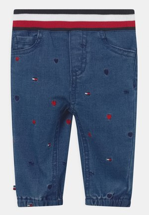 BABY EMBROIDERED UNISEX - Relaxed fit jeans - blue denim