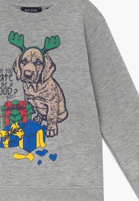 Blue Seven - KIDS CHRISTMAS DOG  - Sweater - nebel - 3