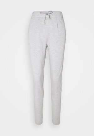 ONLPOPTRASH EASY  PANT - Bukse - light grey melange