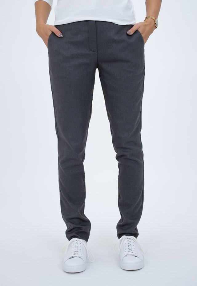KYLIE - Chinos - dark grey shelby