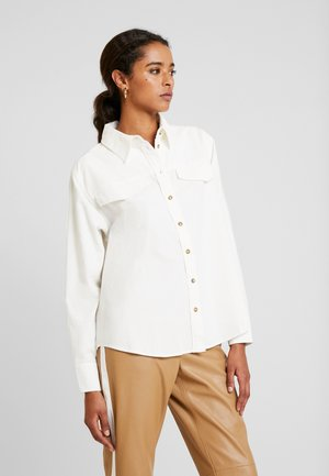 FABRINA - Button-down blouse - milk