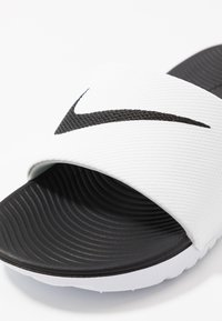 Nike Performance - KAWA  - Pool slides - white/black - 2