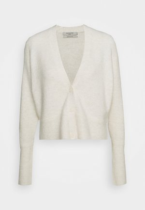 VIKA CARDIGAN - Cardigan - alabaster white