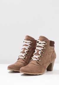 s.Oliver - Ankle boots - pepper