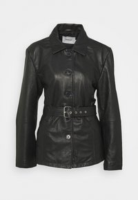 Deadwood - TYRA JACKET - Leather jacket - black - 8
