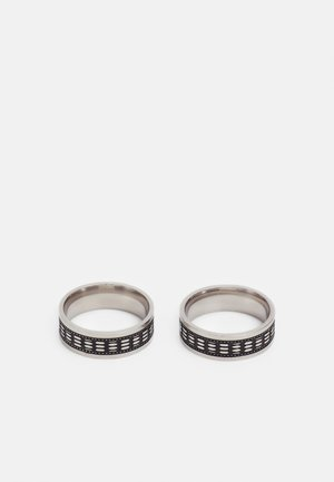 ENGRAVED BAND 2 PACK - Ring - black