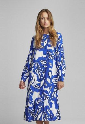 Shirt dress - dazzling blue
