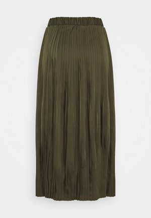 VISYLLA PLISSE HW MIDI SKIRT/SU - Pleated skirt - forest night