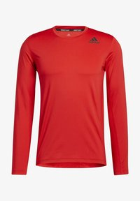 adidas Performance - TECHFIT COMPRESSION LONG-SLEEVE TOP - T-shirt à manches longues - red - 6