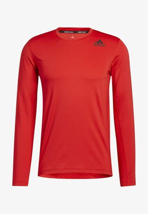 TECHFIT COMPRESSION LONG-SLEEVE TOP - Long sleeved top - red