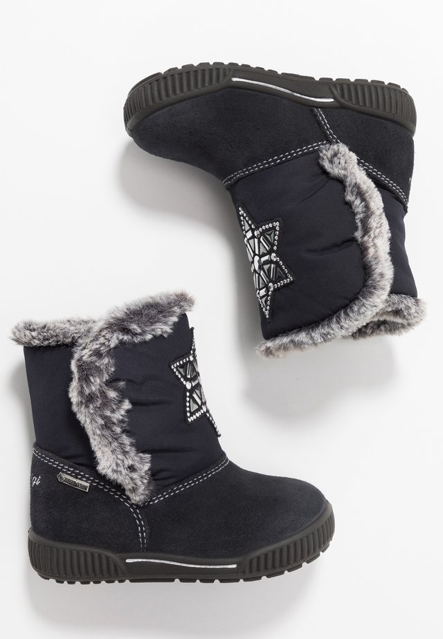 PRIGT - Winter boots - notte/blu scuro