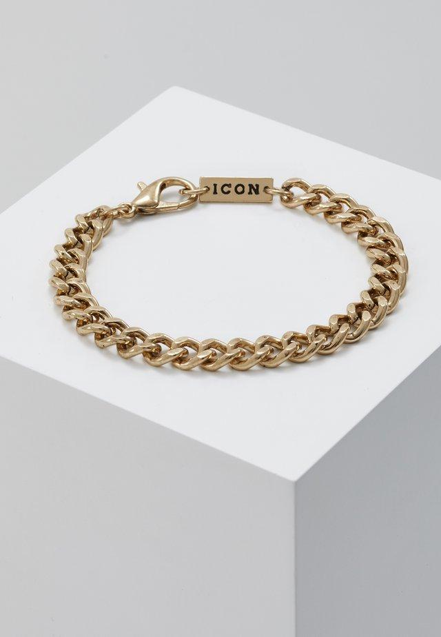 CHUNKY CHAIN BRACELET - Armbånd - antique gold-coloured