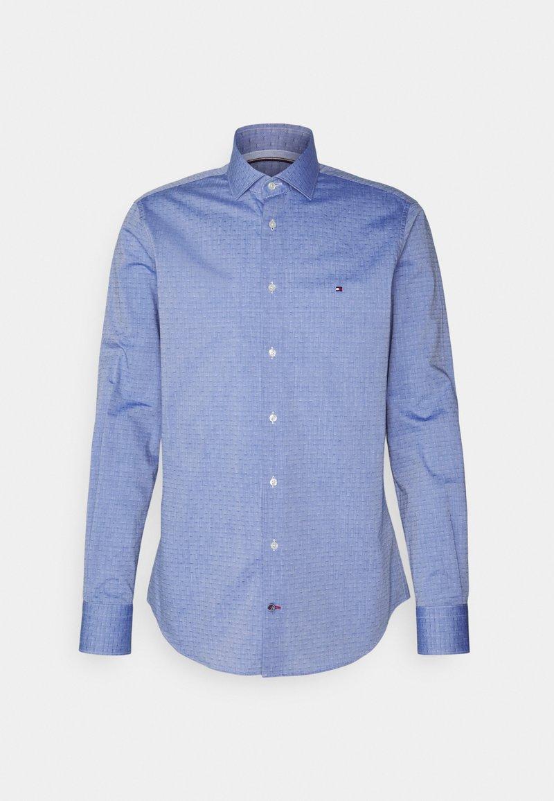 Tommy Hilfiger Tailored - OXFORD DOBBY SLIM - Formal shirt - navy/white