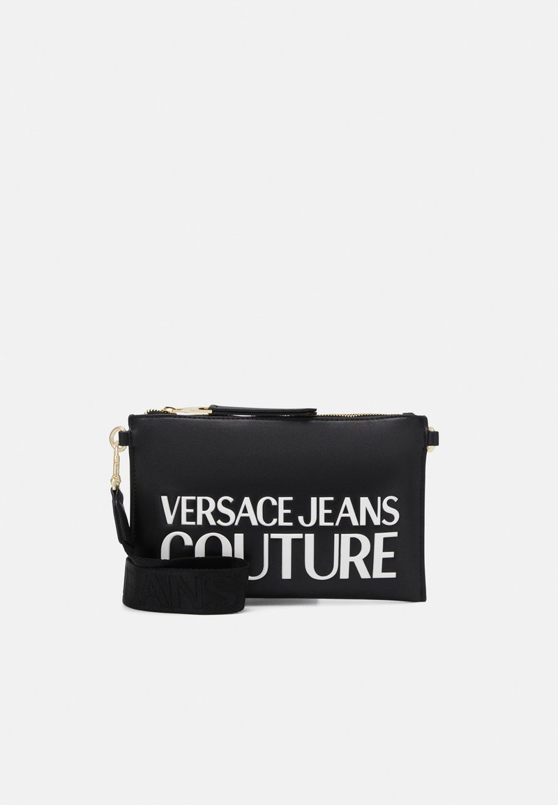 Versace Jeans Couture - MEDIUM POUCHMACROLOGO - Clutch - nero