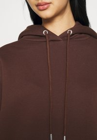 Nly by Nelly - OVERSIZED HOODIE - Sweat à capuche - brown - 5