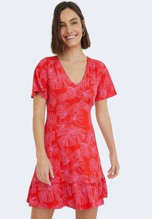NADIA - Day dress - red