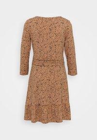 Anna Field - Jersey dress - camel/black - 1