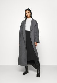 Weekday - KIA BLEND COAT - Abrigo - antracit melange - 1