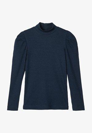 Langærmede T-shirts - dark sapphire