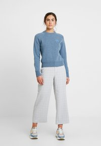 Wood Wood - ASTA  - Jumper - dusty blue - 1