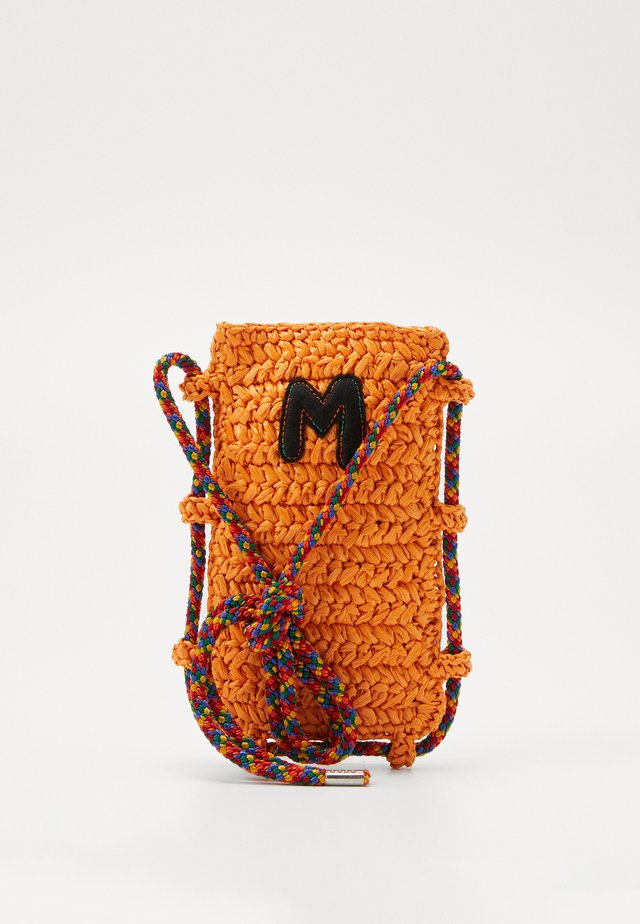 PORTACELLULARE CROCHET - Across body bag - orange