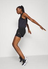 adidas Performance - HEAT.RDY SHORT - Korte broeken - black - 1