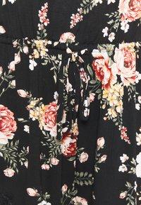 City Chic - JADE PLAYSUIT  - Pyjamas - black/multi coloured - 2