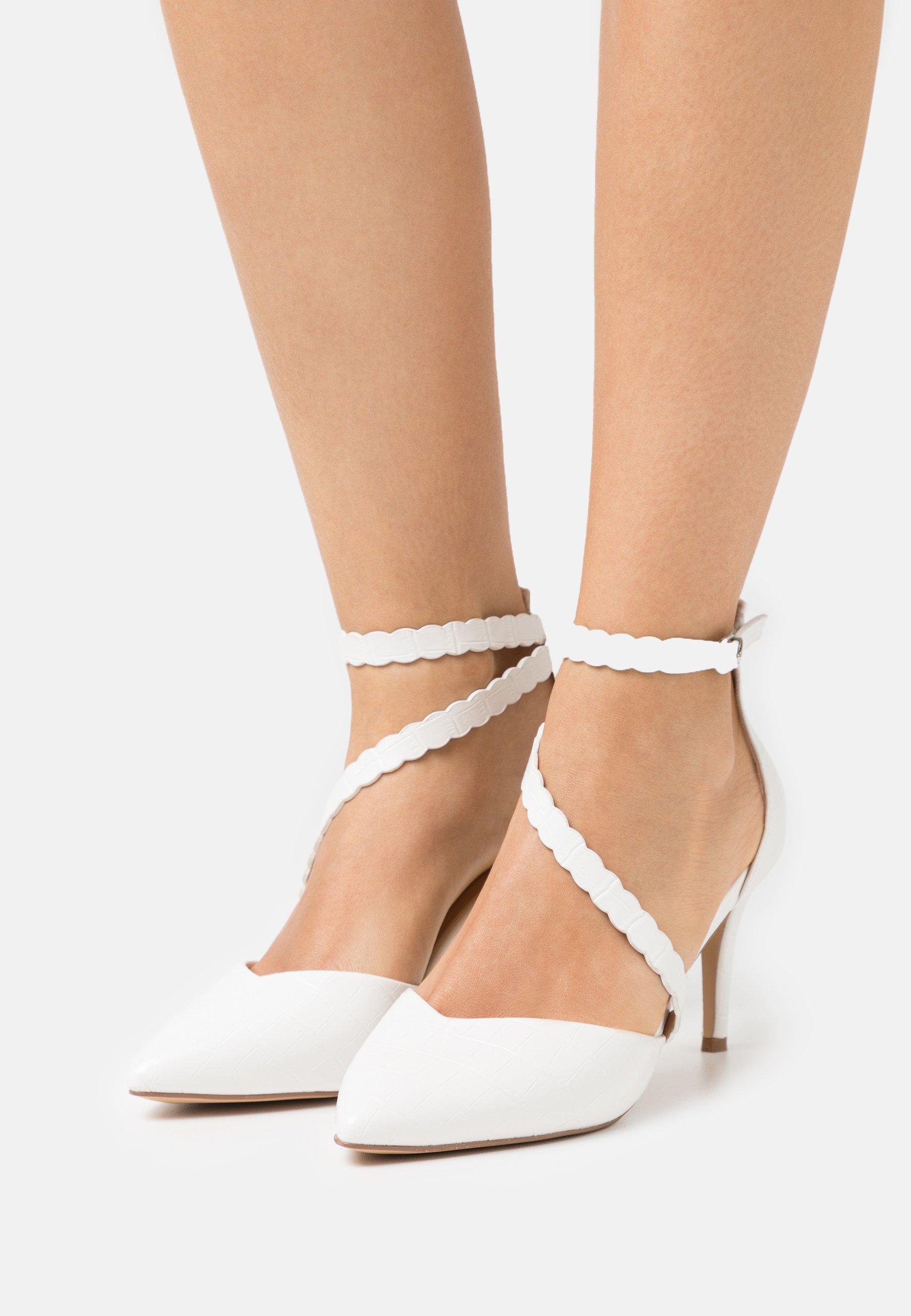 Women CINDERS - Classic heels - white