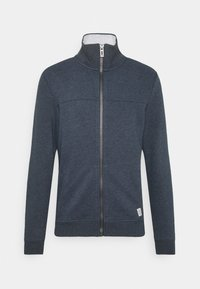 TOM TAILOR - WITH CUTLINE - Sweatjacke - sky captain blue - 0