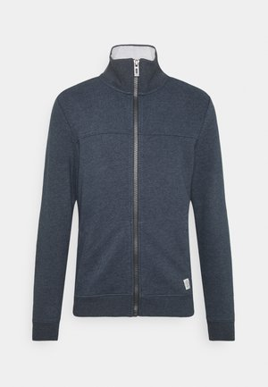 WITH CUTLINE - Hoodie met rits - sky captain blue