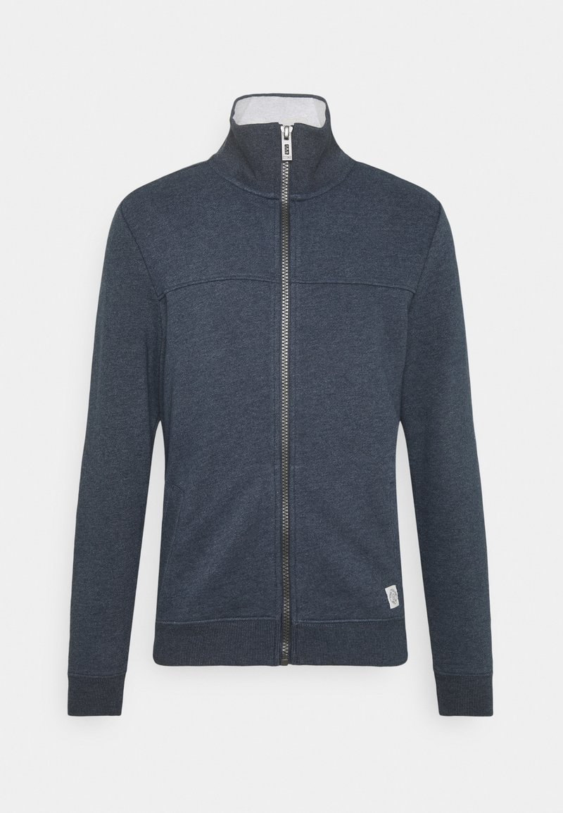 TOM TAILOR - WITH CUTLINE - Sweatjacke - sky captain blue
